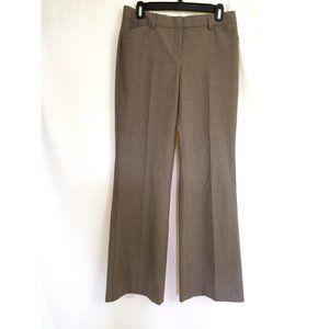 Express Editor Fit Size 6 Brown Dress Pants